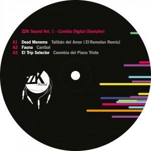 ZZK Sound Vol  1 - Cumbia Digital - Vinyl Sampler - VA | ZZK